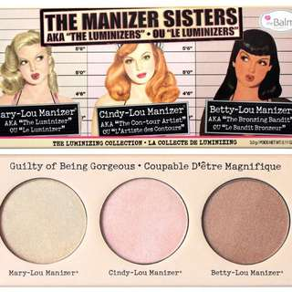 The balm the manizer sisters thebalm 打亮三姐妹