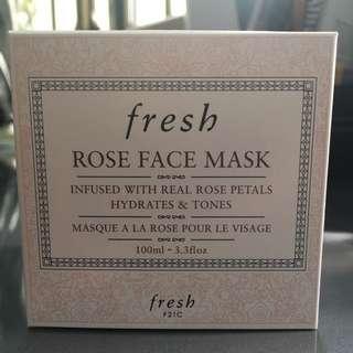 [BRAND NEW] FRESH Rose Face Mask (100ml)