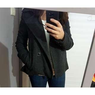 Forever New Grey Coat