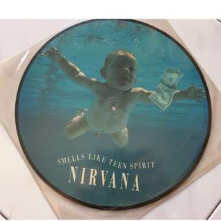 """Nirvana - Smells Like Teen Spirit 12"""" picture disc, Limited Collector's Edition (Original from 1991)"""