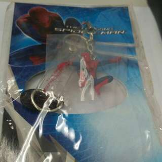 The amazing spiderman keychain