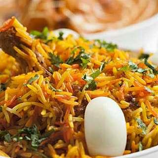 Non Vegetarian Indian Meal