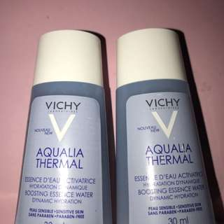 2 Vichy Aqualia Thermal Boosting Essence Water