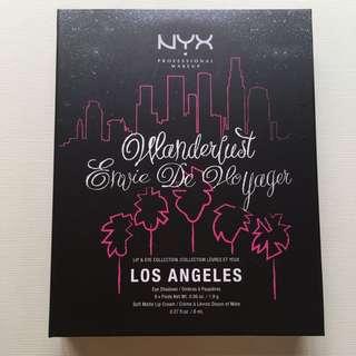 Nyx Lip & Eye Collection Los Angeles (CITYSET02) ORIGINAL NEW