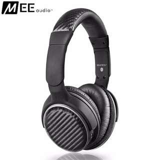 MEE Audio Matrix 2 Wireless Bluetooth Over-the-Ear Headphone with Mic