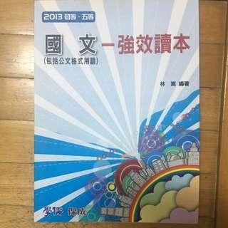 2013初等五等國文