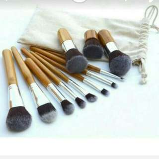 TERMURAH! . High Quality. Make Up Brush 11 Set