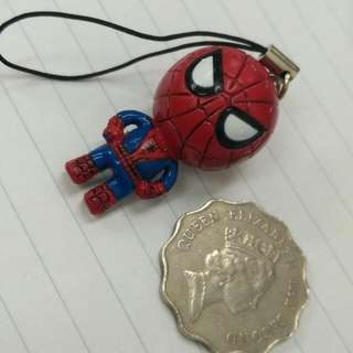 spiderman keyring.