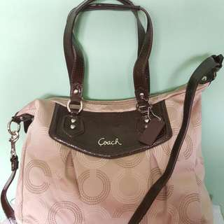 AUTHENTIC COACH ASHLEY HANDBAG (White) 1 Stock Only