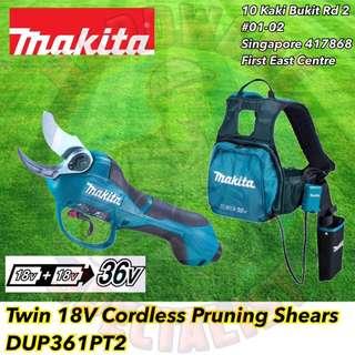 Makita 18V X 2 Cordless Pruning Shear DUP361PT2