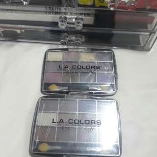 LA Colors Eyeshadows