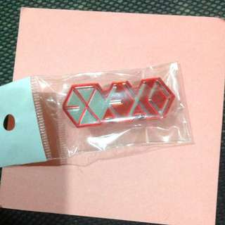 * EXO Red Tag Pin Kpop