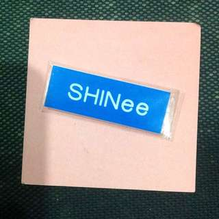 * SHINee Name Tag Pin Kpop