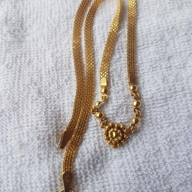 18k Necklace 11.1 Grams