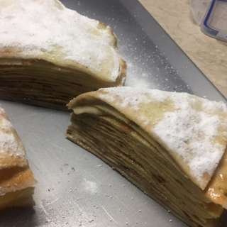 Homemade Crepe Cake