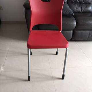 Chair With Backrest (4 Pcs Available)