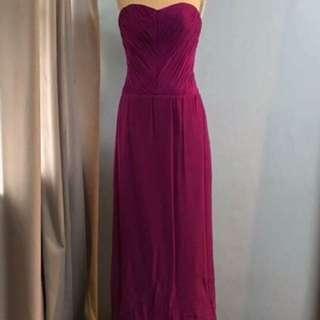 Violet Long Gown