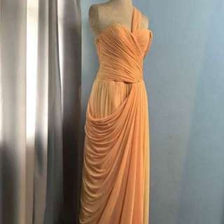 Cream Long Gown