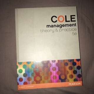 Management In Theory And Practice 5th Ed