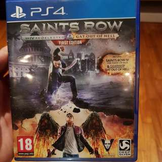 PS4 GAME SAINTS ROW IV
