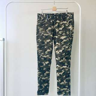 STAGE Green Camo Pants