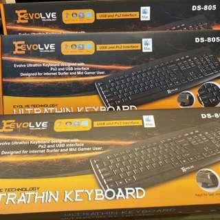 Evolve Keyboard DS-805 USB
