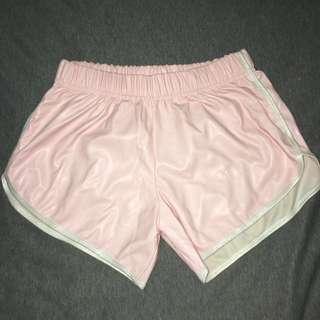 韓國購入 粉色少女運動褲