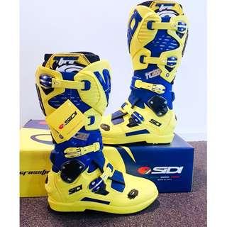 SIDI Crossfire 3 SRS Tony Cairoli Limited Edition offroad boots