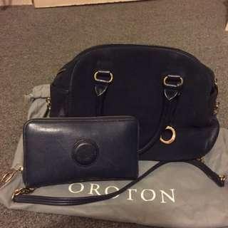 Oroton Wallet And Bag