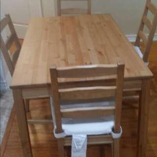 Ikea dining table set