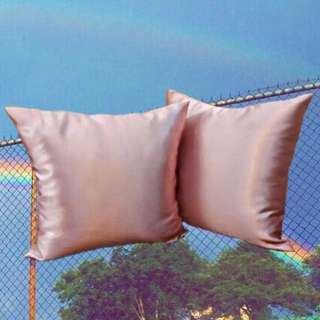 Pink Glossy Cushion