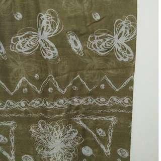 Pashmina / Shawl Motif Bunga