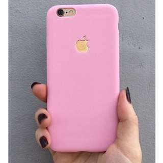 Last Stock Pastel Pink Softcase For Iphone 6