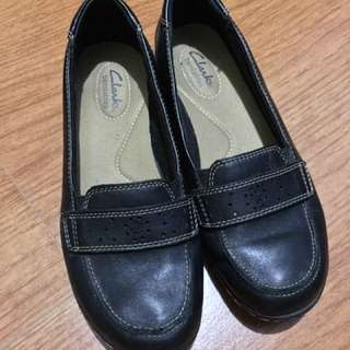 Authentic Clark's Leather Shoes