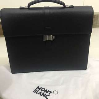 Authentic Mont Blanc Briefcase