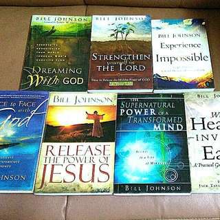 Bill Johnson Christian Books