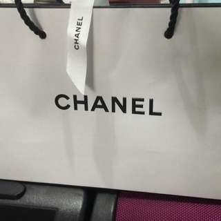 CHANEL Paper bag Authentic