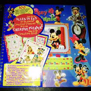 Scrapbook: Mickey Mouse