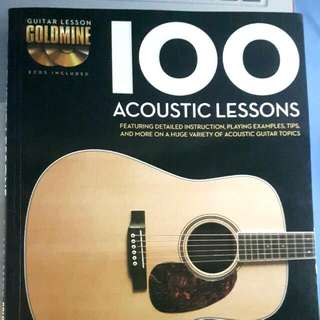 Hal Leonard 100 Acoustic Guitar Lessons