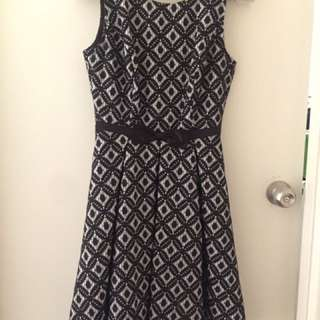 REVIEW flare dress