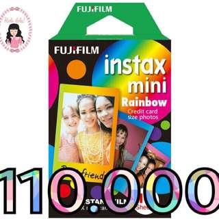 Rainbow Instax Mini Refill