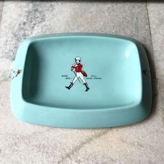 1970s Wade Johnnie Walker Still Going Strong Ashtray - Rare