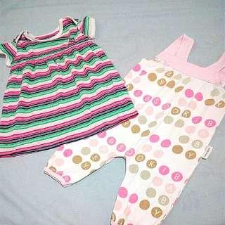 Baby Dress + Romper