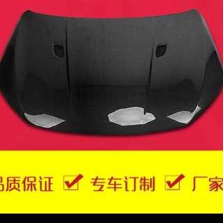 Scirocco Carbon Fibre Bonnet