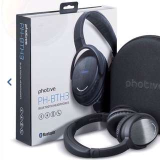 Photive BTH3 Wireless Bluetooth Headphones