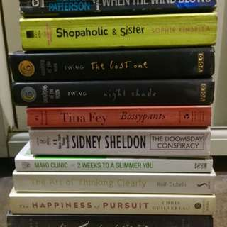 Books For Sale (starts at P75)