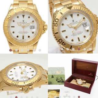 Rolex Yachtmaster 1995 40mm Includes box and papers