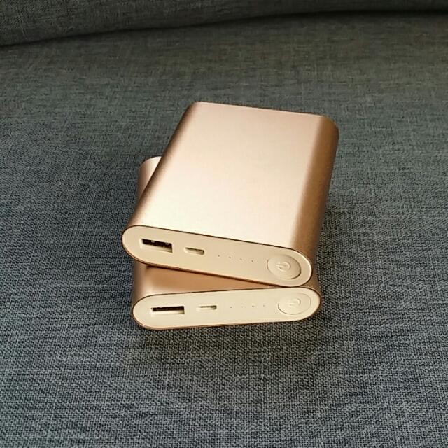 2 Portable chargers