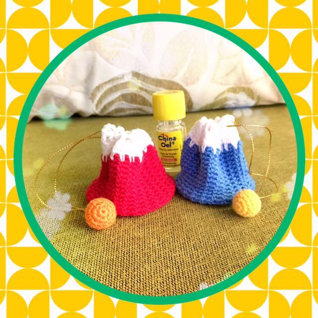 🗻🗻 迷你束口袋 ✿ 毛線編織手作雜貨 ✿