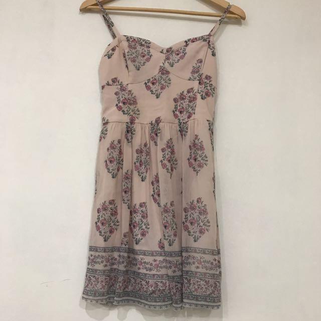 Abercrombie&fitch Original Dusty Pink Dress